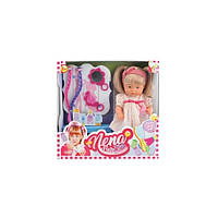 Говорящая кукла BAMBOLINA NENA - МАЛЕНЬКИЙ СТИЛИСТ 36 см с аксессуарами
