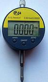 Цифровой индикатор часового типа ИЧЦ (0-12.7 мм) без ушка в водозащитном корпусе IP54