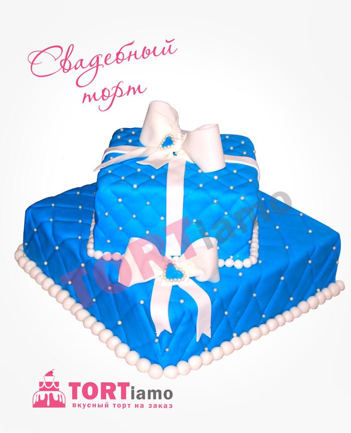 """Весільний торт на замовлення """"Подарунок долі"""""""