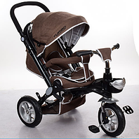 Велосипед-коляска с поворотным сиденьем, надувные колеса M AL3645A-13,шоколадный ***