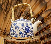 """Чайник заварник """"Тибет"""" фаянсовый 900 мл"""