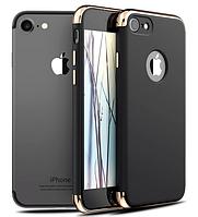 Защитный чехол бампер для iPhone 7 черный