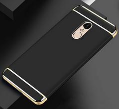 Защитный чехол бампер для Xiaomi Redmi Note 4 черный