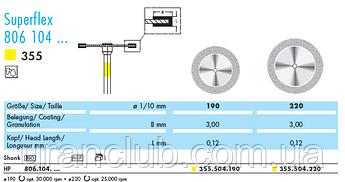 Алмазный зубчатый диск NTI Superflex