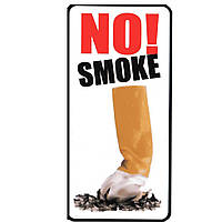 "Наклейка ""No Smoke!"" (Не курить!)"