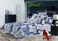Комплект постельного белья с компаньоном R1698 двуспальный ранфорс