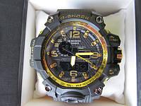 Мужские спортивные водостойкие часы G-SHOCK (копия), золотистые
