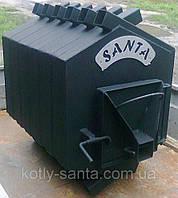 Дровяная печь калорифер Santa-400