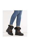 11-06 Черные женские ботинки Eti