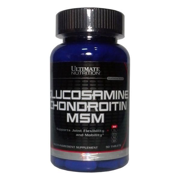 Для Суставов и Связок Ultimate Nutrition Glucosamine And Chondroitine And MSM (90 tab)
