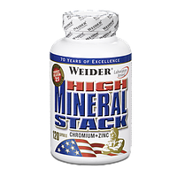 Витамины и минералы Weider High Mineral Stack (120 caps)