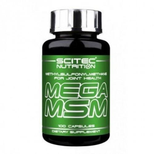 Для суставов и связок Scitec Nutrition Mega MSM (100 caps)