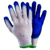 Перчатки трикотажные с латексным покрытием (манжет) Grad (9445705)