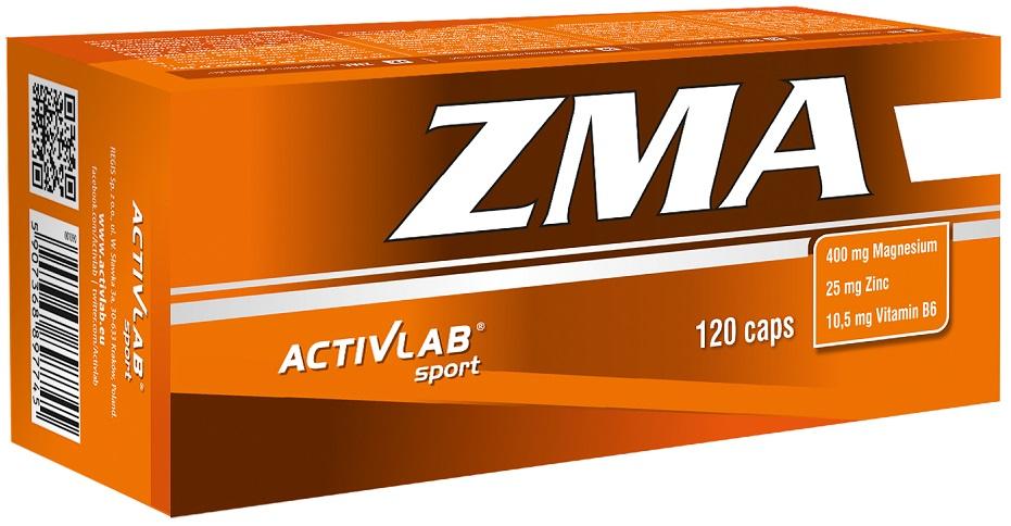 Повышение тестостерона Activlab ZMA (120 caps)