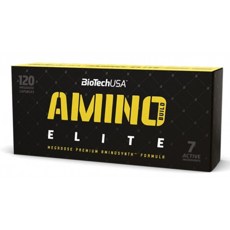 Аминокислоты Biotech Amino Build Elite (120 caps)