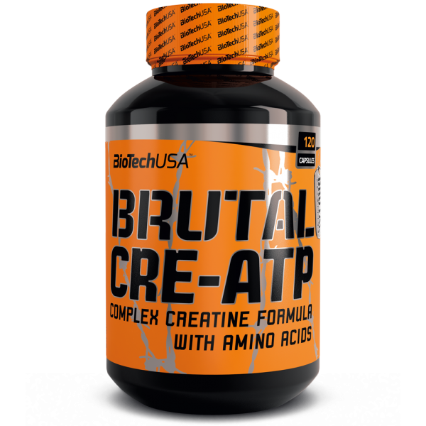 Креатин BioTech Brutal CRE-ATP (120 caps)