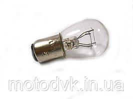 Лампа стопа 6v 21/5w S25 двухконтактная