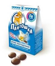 Пантошка Fe залізо драже Арго (ефективні натуральні вітаміни для дітей, анемія, ріст, розвиток, слабкість)