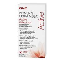 Витамины и минералы для женщин GNC Women's Ultra Mega Active (90 caps)