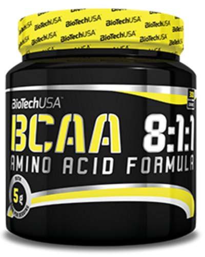 Аминокислоты BioTech BCAA 8:1:1 300 g