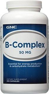 Витамины и минералы GNC B-Complex 50 (250 caps)