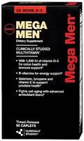 Витамины и минералы GNC Mega Men 90 tab