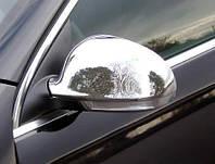 Хром накладки на зеркала Volkswagen Passat B6 2006-2010 (нержавеющая сталь)