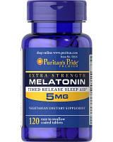 Витамины и минералы Puritan's Pride Melatonin 5 mg (120 caps)