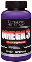 Витамины и минералы Ultimate Nutrition Omega 3 (180 caps)