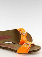 04-22 Оранжевые женские босоножки 1350 39,37