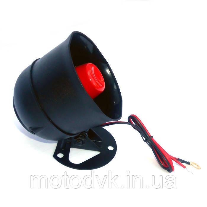 Мото сирена 12v для сигнализации