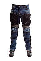 Мотоджинсы Komine синие, размер L, фото 1
