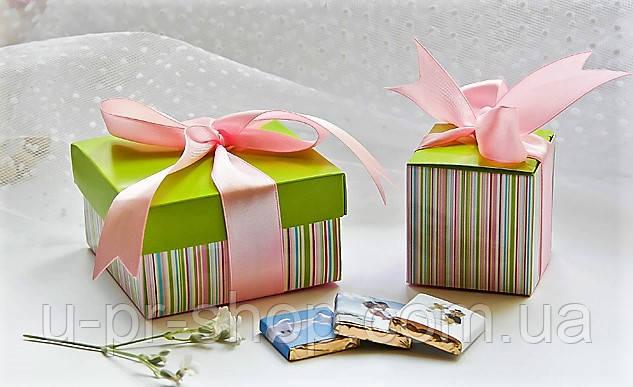 Подарочная коробка с шоколадом