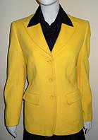 Пиджак женский желтого цвета Alba Moda (Италия)