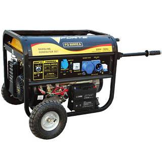 Бензиновый генератор Forte FG8000EA (6,5 кВт)