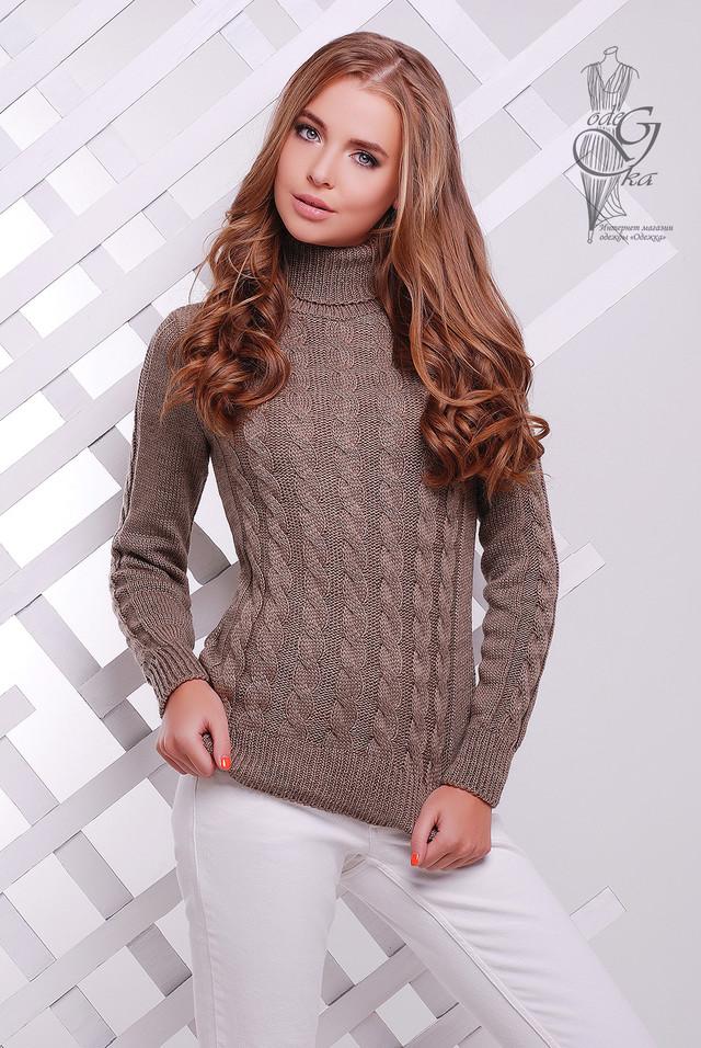 Подобные товары-6 Женского зимнего свитера теплого Ярина