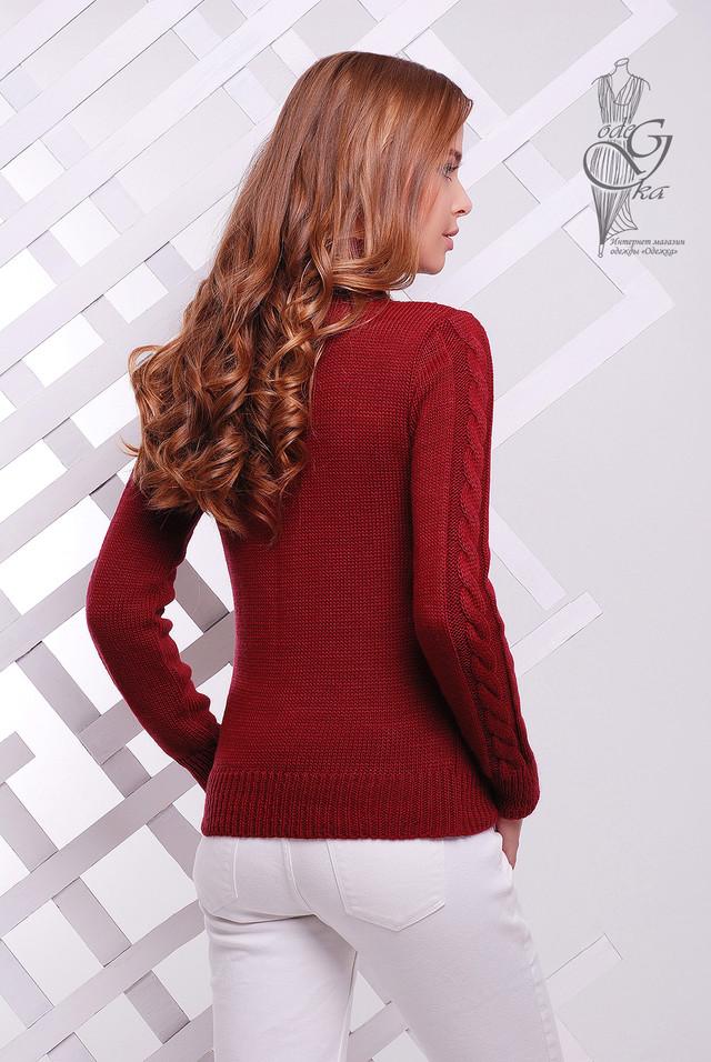 Фото-1 Женского зимнего свитера теплого Ярина