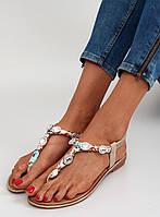 Розовые женские сандалии Hubbinur 37