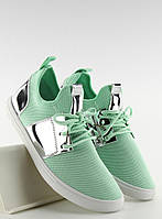 11-09 Мятные женские туфли Nurgustaana 41,40,39