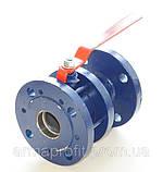 Кран шаровый стальной полнопроходной фланцевый КШУн-150 ЭТОН (11с67п) Ду150 Ру16, фото 5