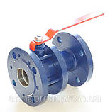 Кран шаровый стальной полнопроходной фланцевый КШУн-150 ЭТОН (11с67п) Ду150 Ру16, фото 6