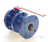 Кран шаровый стальной полнопроходной фланцевый КШУн-150 ЭТОН (11с67п) Ду150 Ру16, фото 8