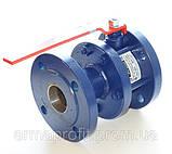 Кран шаровый стальной полнопроходной фланцевый КШУн-150 ЭТОН (11с67п) Ду150 Ру16, фото 10