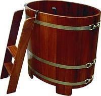 Бочка купель для бани