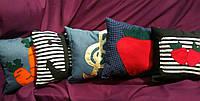 Подарочная подушка на выбор - 5 моделей флок