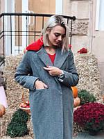 Женское Пальто из шерсти на синтепоне