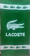 Пляжное полотенце Lacoste велюр-махра Турция