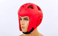 Шлем для MMA литой EVA  (красный, р-р S, M)