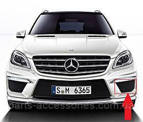 Mercedes ML W166 W 166 AMG левая решетка в бампер новая оригинал 2012+
