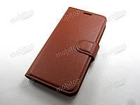 Чехол книжка Motorola Moto C XT1750 (коричневый), фото 1